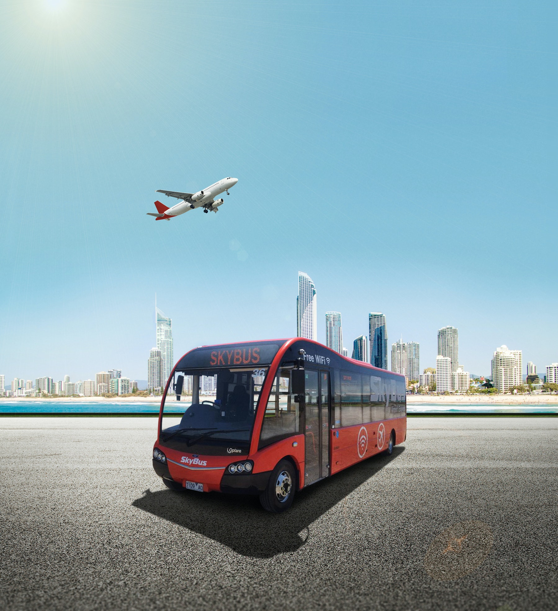 SkyBus Gold Coast Airport Shuttle service photo