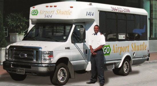 GO Airport Shuttle New Orleans service photo