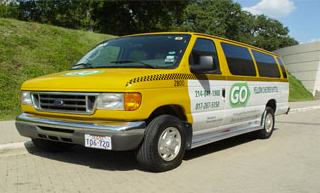 GO Yellow Checker Shuttle service photo
