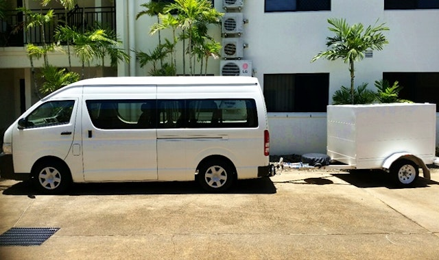 Cairns Region Minibus Group Transfers service photo