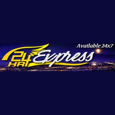 24HR Express logo