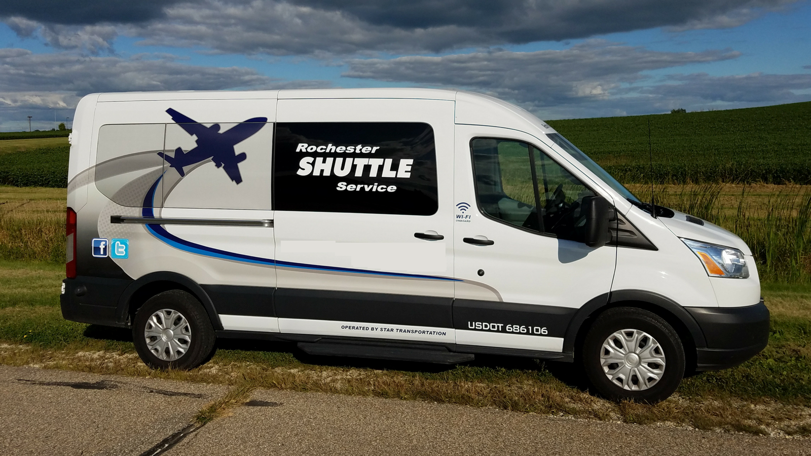 Rochester Shuttle Service vehicle 1
