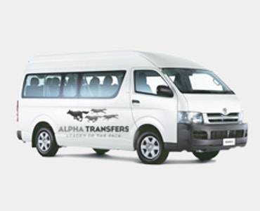 Alpha Transfers vehicle 1