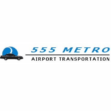 555 Metro Airport Transportation logo