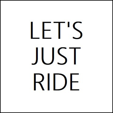 Let's Just Ride logo