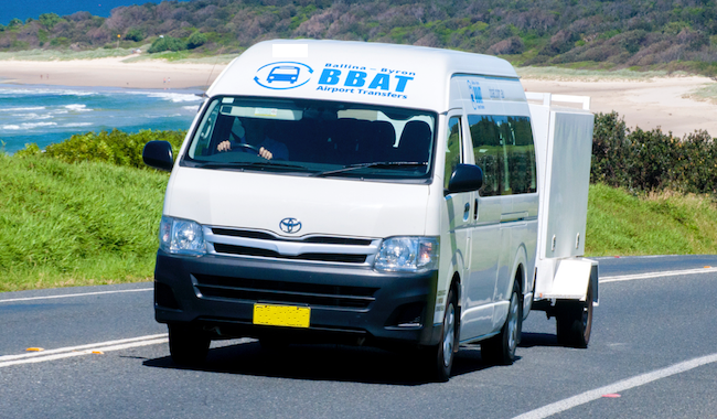 Ballina Byron Airport Transfers vehicle 1