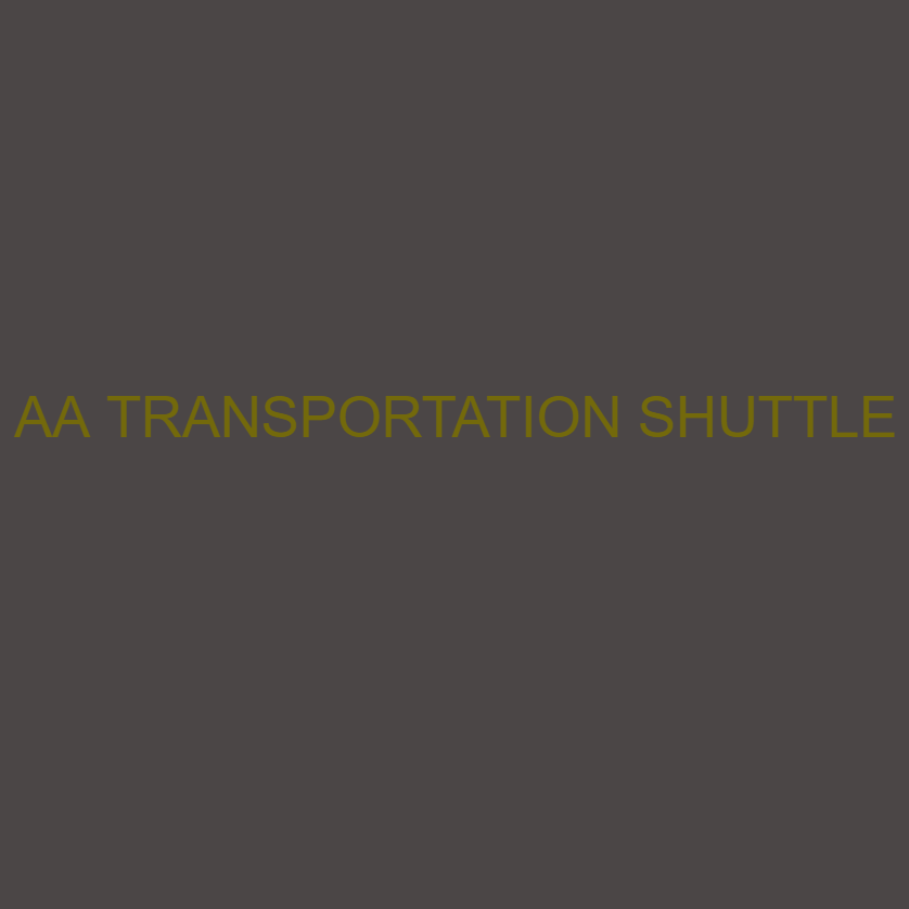 AA Transportation Shuttle