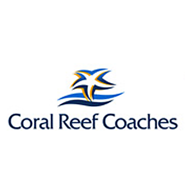 Coral Reef Coaches logo