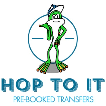 Hop To It Pre-booked Transfers logo