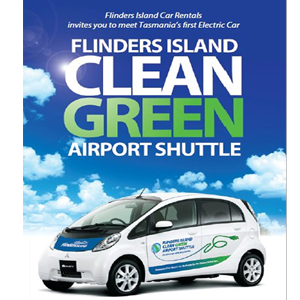 Flinders Island Clean Green Airport Shuttle