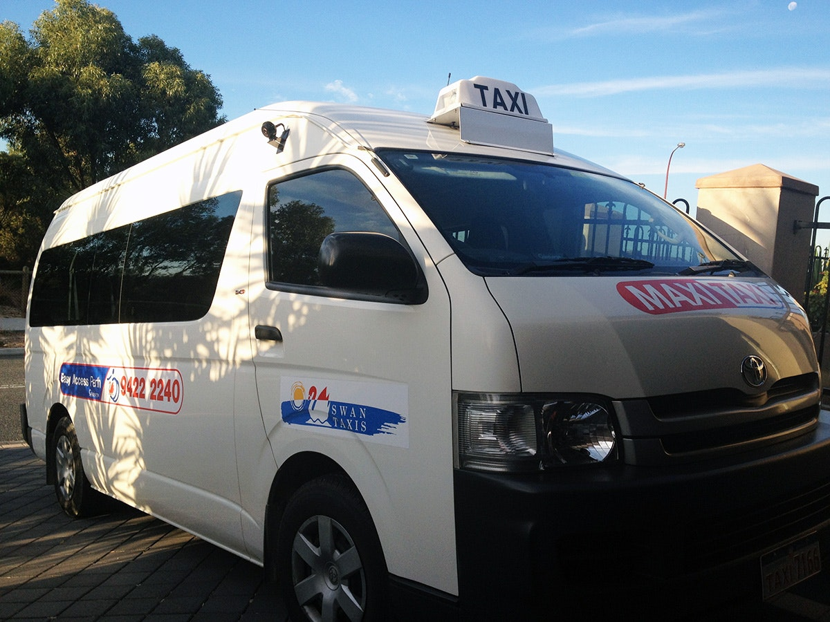 North Perth Maxi Taxi vehicle 1