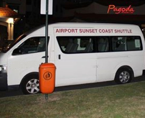 Airport Sunset Coast Shuttle vehicle 1