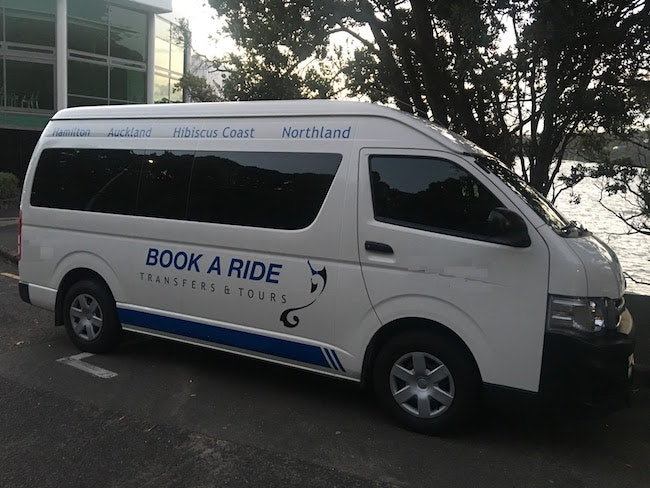 Book A Ride vehicle 1