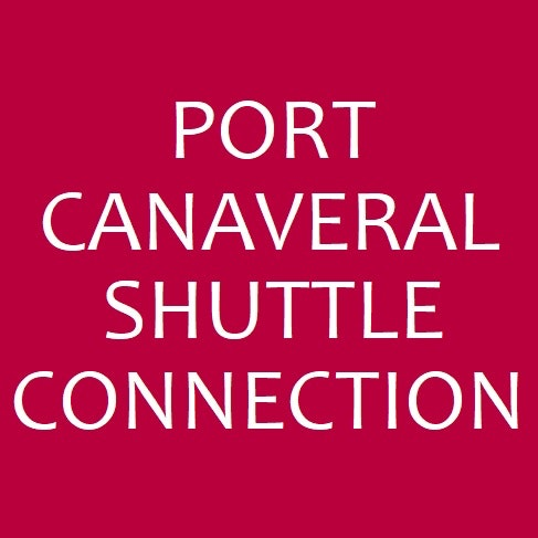 PORT CANAVERAL SHUTTLE CONNECTION logo