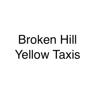 Broken Hill Yellow Taxis