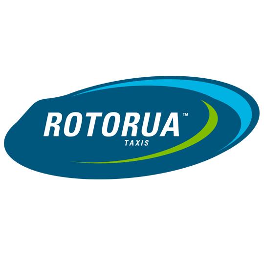 Rotorua Taxi's & Shuttle logo