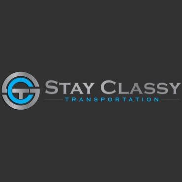 Stay Classy Transportation logo