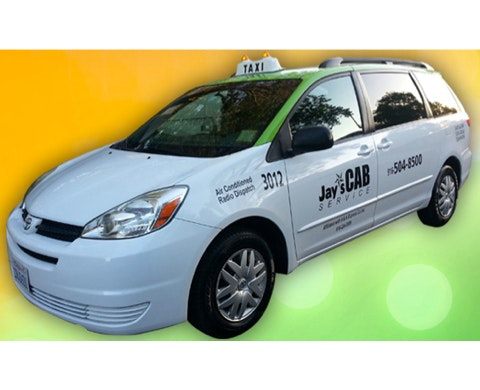 Jay's Cab Services vehicle 1