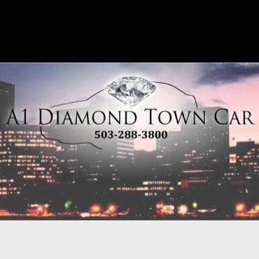 A1 Diamond Town Car logo