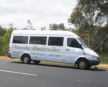 Macarthur Shuttles & Tours vehicle 1