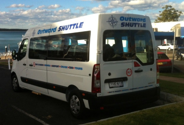 Outward Shuttle Pty Ltd vehicle 1