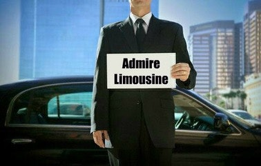 ADMIRE LIMOUSINE AND LUXURY SEDAN logo