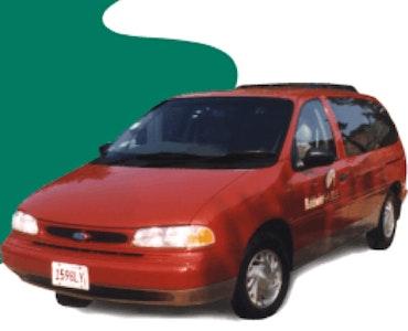 Baldwin Shuttle vehicle 1