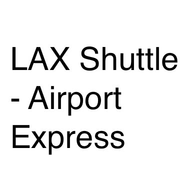 LAX Shuttle - Airport Express logo