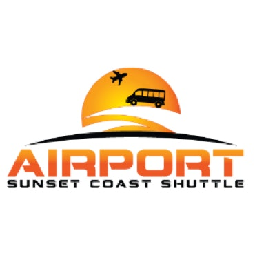 Airport Sunset Coast Shuttle logo