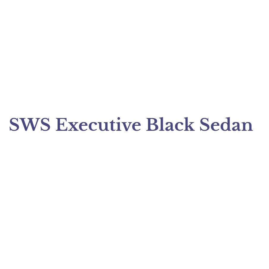 SWS Executive Black Sedan logo