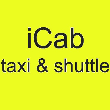 ICab taxi and shuttle logo