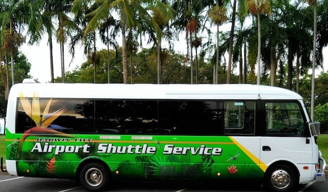 Darwin City Airport Shuttle Service vehicle 1