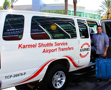 Karmel Shuttle vehicle 1
