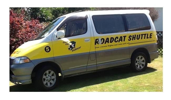 Roadcat Shuttles vehicle 1