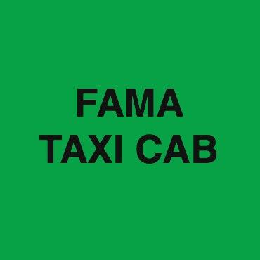 Fama Taxi Cab logo