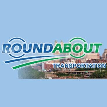 Roundabout Transportation logo