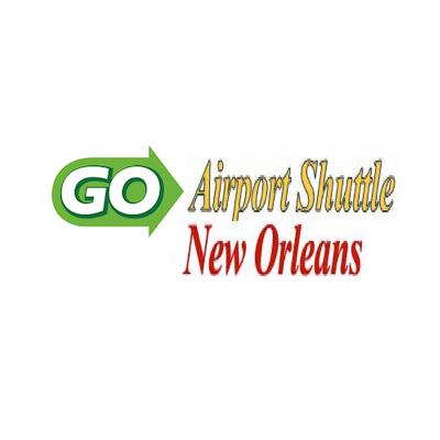 GO Airport Shuttle New Orleans logo