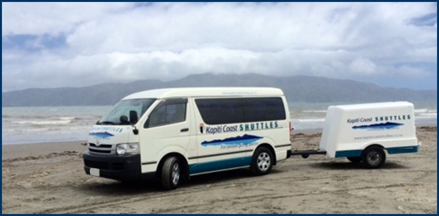 Kapiti Coast Shuttles vehicle 1