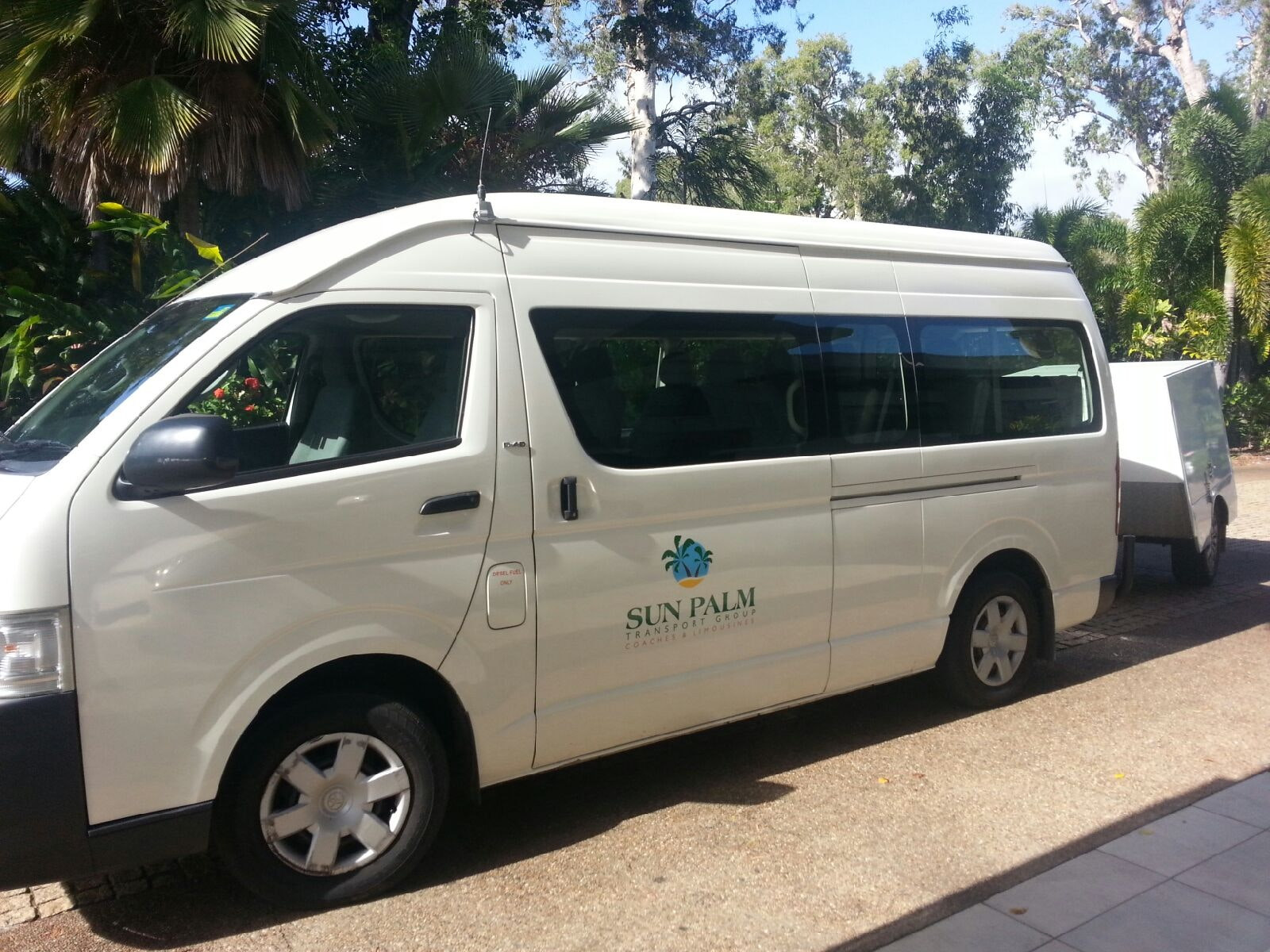 Sun Palm Transport Group vehicle 1