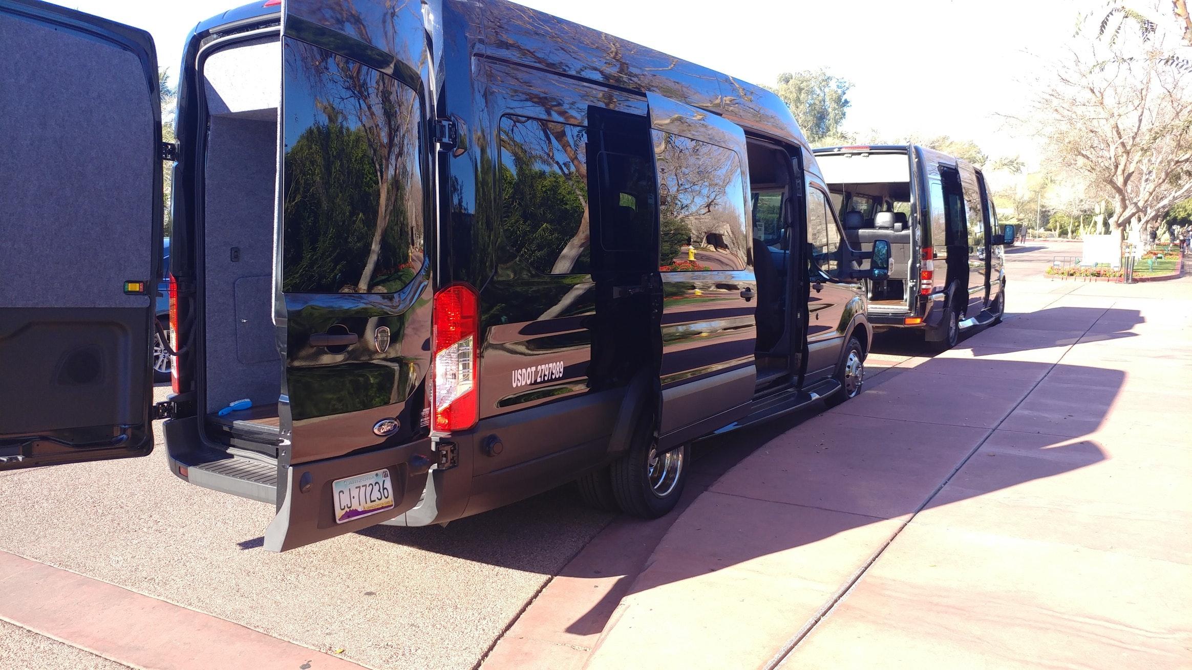 Blasian Executive Secured Transport vehicle 1