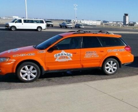 Orange Cab vehicle 1