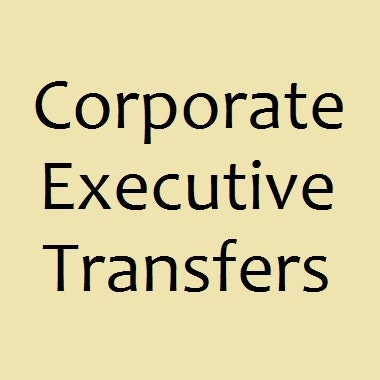 Corporate Executive Transfers