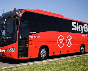 SkyBus vehicle 1