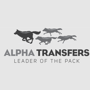 Alpha Transfers logo