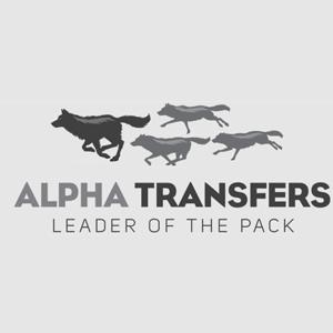 Alpha Transfers logo