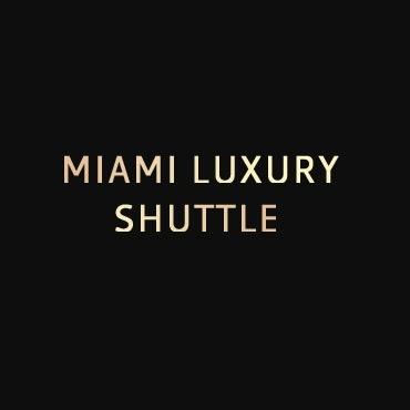 Miami Luxury Shuttle  logo