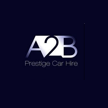 A2B Prestige Car Hire logo