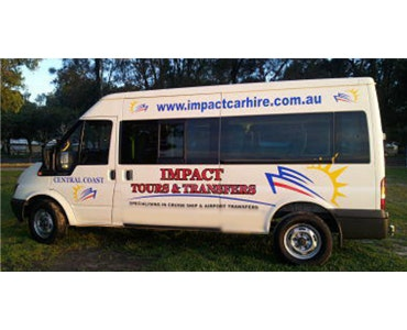 Impact Tours & Transfers vehicle 1