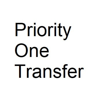 Priority One Transfer logo