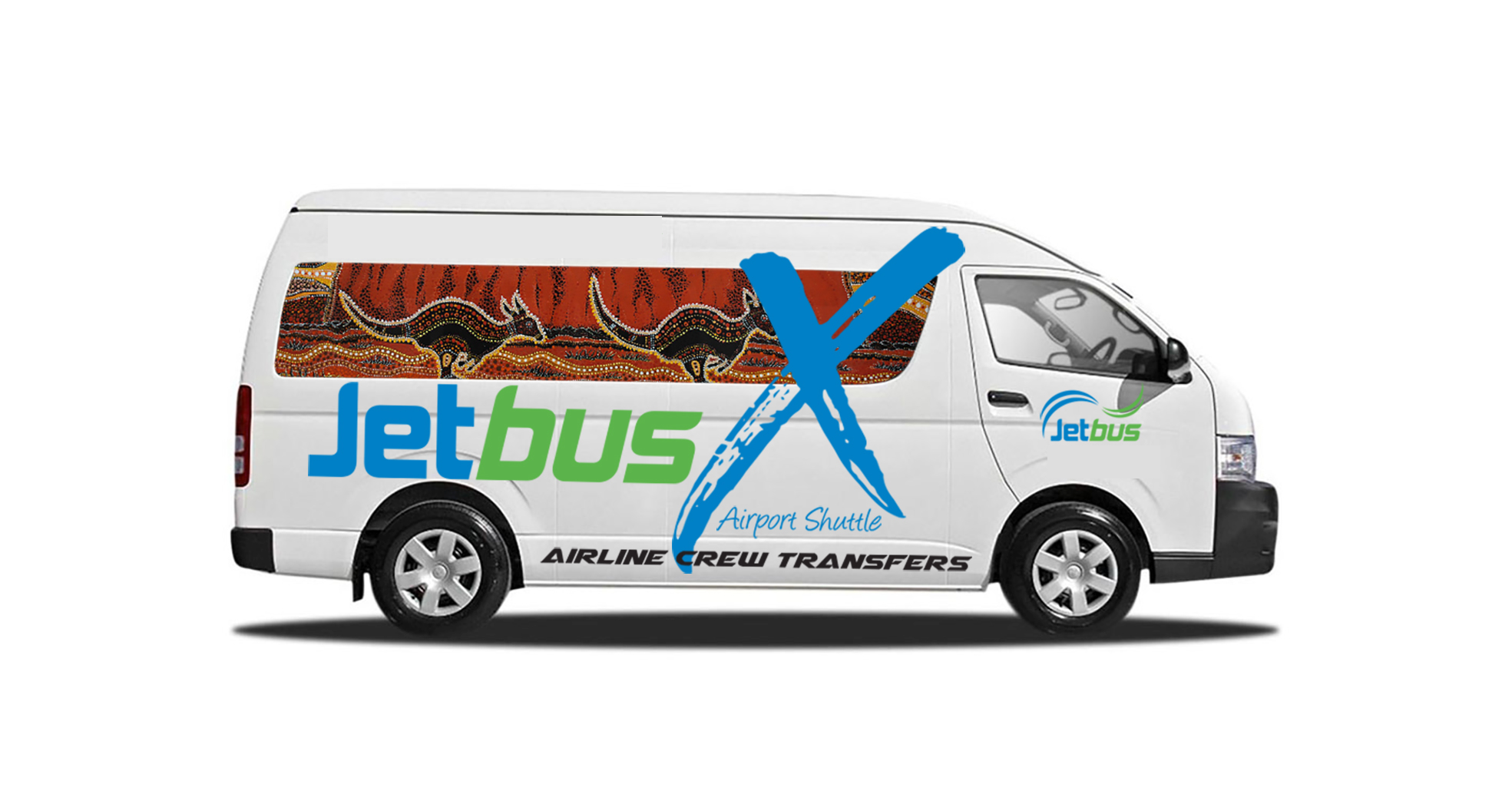 Jetbus X Airport Shuttle vehicle 1
